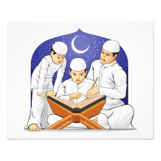Kids Learn to Read Al-Quran with Their Parent Custom Flyer