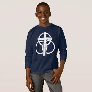 Kid's Long-sleeve T-shirt: Modern Logo T-Shirt