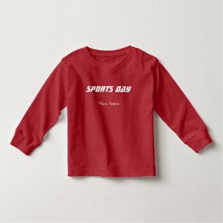 Kids Long T-shirt - Sports Day Logo