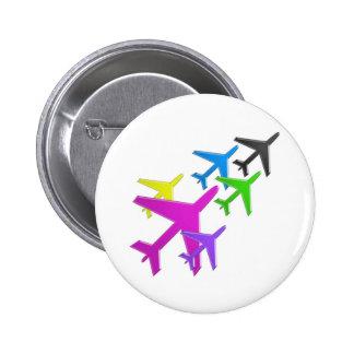 KIDS LOVE Aeroplane avion vol voyageurs GIFTS FUN Pin