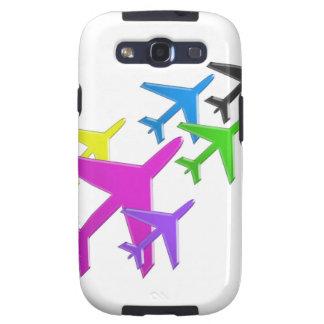 KIDS LOVE Aeroplane avion vol voyageurs GIFTS FUN Galaxy S3 Cases