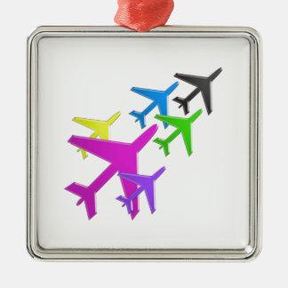 KIDS LOVE Aeroplane avion vol voyageurs GIFTS FUN Ornament