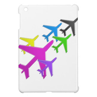KIDS LOVE Aeroplane avion vol voyageurs GIFTS FUN iPad Mini Case