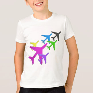 KIDS LOVE Aeroplane avion vol voyageurs GIFTS FUN T-Shirt