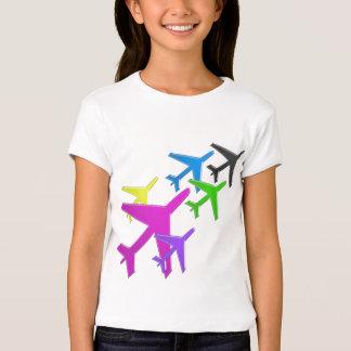 KIDS LOVE Aeroplane avion vol voyageurs GIFTS FUN T-Shirt