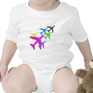 KIDS LOVE Aeroplane avion vol voyageurs GIFTS FUN Bodysuits