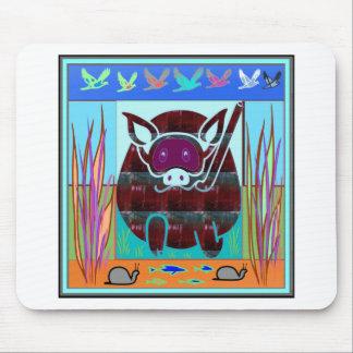 KIDS love Cartoon Animals Mouse Pad