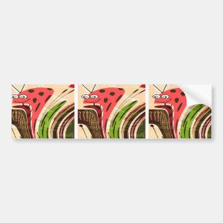 KIDS love Parrots, Secret LadyBug Waves Gateway fu Bumper Stickers
