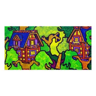Kids Magic Treehouse Photo Greeting Card