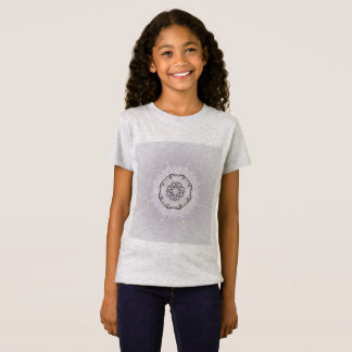 KIDS mandala TSHIRT grey