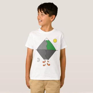 Kids Minimalist Mountain Tee