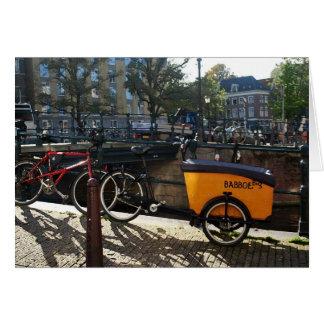 Kid's MiniVan in Amsterdam Card