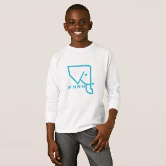 Kids' MMNH Blue Elephant Long Sleeve Shirt