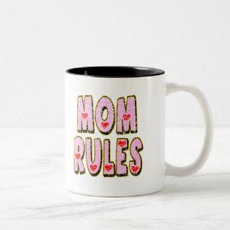 Kids Mom Rules T Shirts and Kids Gifts Mugs