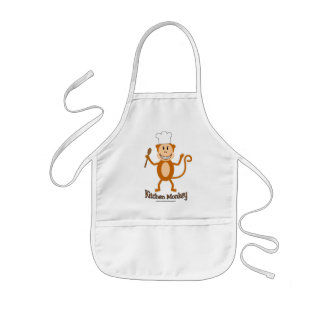 Kids Monkey apron