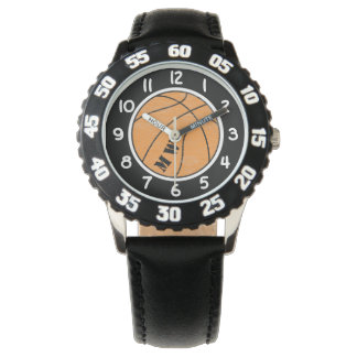 Kids Monogram Basketball Watch
