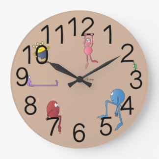 Kids' Monster Clock