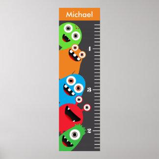 Kids Monster Growth Chart