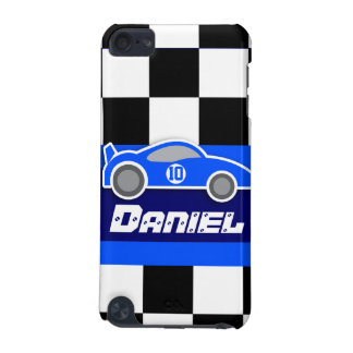 kids named blue sports car autosports ipod case
