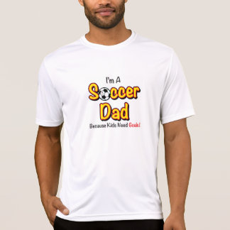 """Kids Need Goals"" Soccer Dad's Mens Active Wear Tshirts"