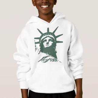 Kid's New York Hoodie Statue of Liberty Souvenir