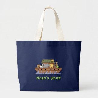 Kids' Noah's Ark Travel Tote Jumbo Tote Bag