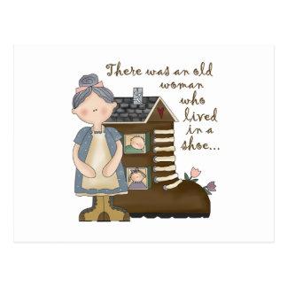 Kids Nursery Rhyme Gift Post Card