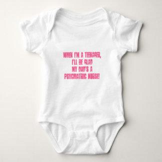 Kids of Psych. Nurses-Humor Baby Bodysuit