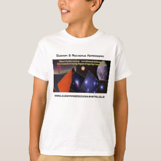Kid's Oldham and Rochdale Astronomy t-shirt