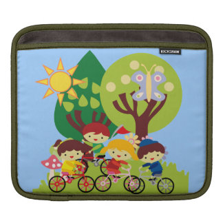 Kids on Bikes Sleeves For iPads