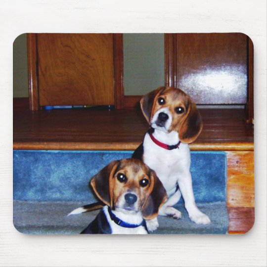 Kids on Stairs Mouse Mat