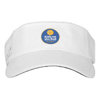 Kids on the Ball: CUBA Visor Full Logo
