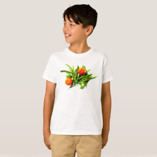 Kid's Oranges and Green Beans T-Shirt