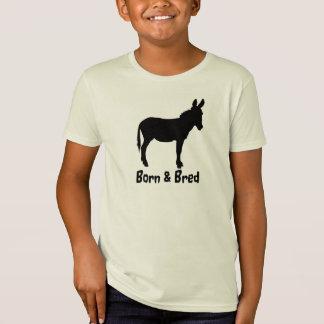 Kids organic cotton Born & Bred Donkey Tee