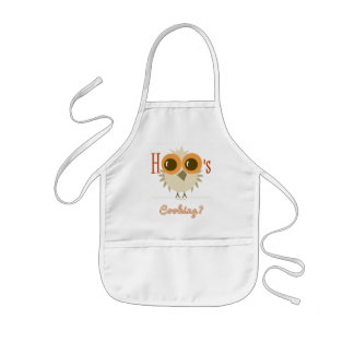 Kids OWL APRON HOO's COOKING