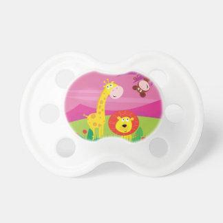Kids pacifier : JUNGLE theme