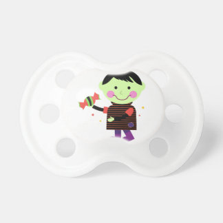 Kids pacifier with Zombie
