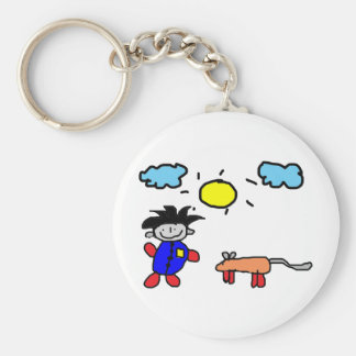 Kids Painting Keychains
