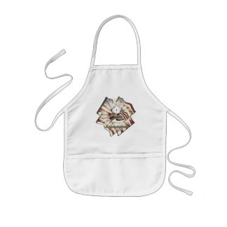 Kids Patriotic Bunny T Shirts and Gifts Kids Apron