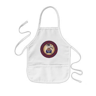 Kids Patriotic Mouse T Shirts and Gifts Kids Apron