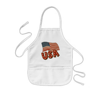 Kids Patriotic T Shirts and Kids Gifts Kids' Apron