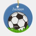 Kids Personalised Soccer Ball Keepsake