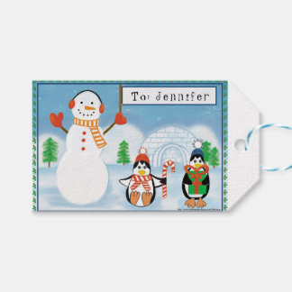 Kids Personalised Two-Sided Gift Tags