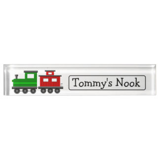 Kid's Personalized Name and Photo Name Plate