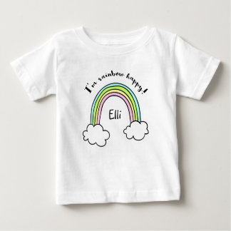 Kids Personalized Rainbow T-Shirt