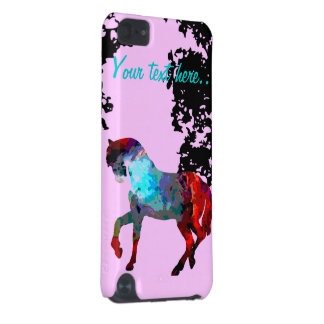 Kids Pink Horse iPod Touch (5th Generation) Case