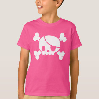 Kid's Pink Pirate T-shirt
