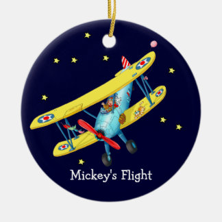 Kids Plane Ornament