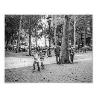 Kids Playing East Side Photo Art