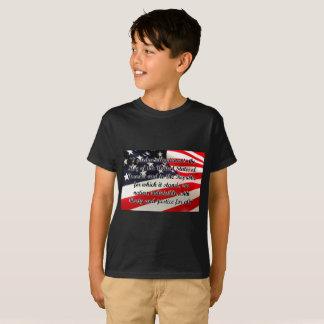 Kids' Pledge of Allegiance Hanes TAGLESS® T-Shirt